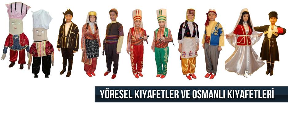 YÖRESEL KIYAFETLER
